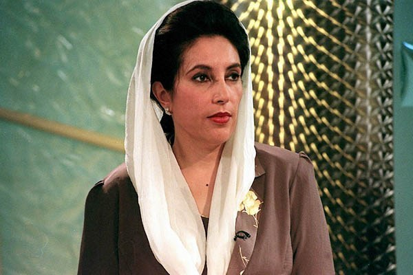 Pakistan's Benazir Bhutto. Sinead Lynch—AFP